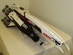 8-foot LEGO Normandy SR2 by ktorrek