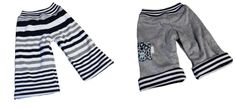 baby pants - reversible if wanted. great gift idea!
