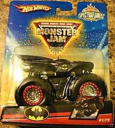 Hot Wheels Monster Jam Batman 2009 Spectraflames Edition 61/75, 1:64 Scale by Hot Wheels. $17.01