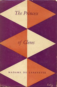 The Princess of Cleves book jacket by Alvin Lustig
