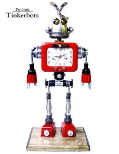 """Franky """"The Time Bomb"""" Clockleone by Tinkerbots, via Flickr"""