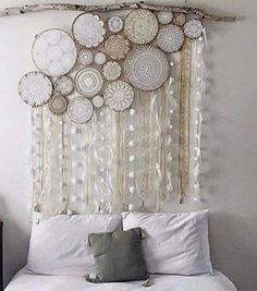 Embroidery Hoop Headboard Hanging. Gloucestershire Resource Centre…