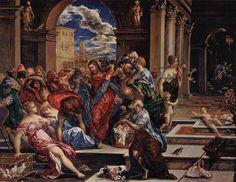 jesus perde a paciência com vendilhões -wiki __
