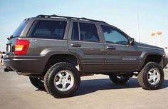 Jeep Grand Cherokee WJ - with lift