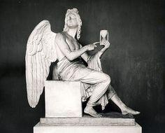 Angel  - 1830~ by Bertel Thorvaldsen - Danish Sculptor (1770-1844)