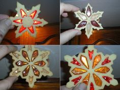 Martha Stewart Snowflake Cookies | Snowflake-cookie-Collage