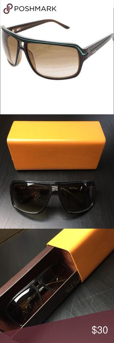 a703cf11fd2e Paul Frank They Call Her Action Sunglasses Wide Sunglasses in Burgundy    Seafoam color combo with brownish lenses. They are in good pre-owned  condition and ...