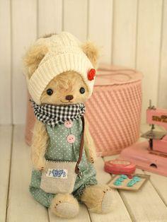 teddy bear (Bear's Kitchen-Chiyori Iwasaki)