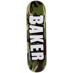Baker Skateboards, Skateboard Art, Skateboarding, Camo, Bb, Deck, Shapes, Kids, Shopping