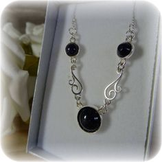 Hey, I found this really awesome Etsy listing at https://www.etsy.com/uk/listing/504281310/sterling-silver-blue-goldstone-necklate