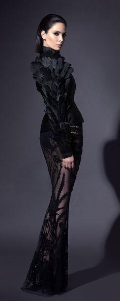 Jean-Louis Sabaji Printemps-été 2018 - Haute couture - http://fr.orientpalms.com/Jean-Louis-Sabaji-7018