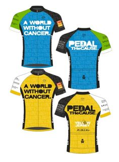 tbt Last weekend s Pedal the Cause event jersey...  5ab6ae6da