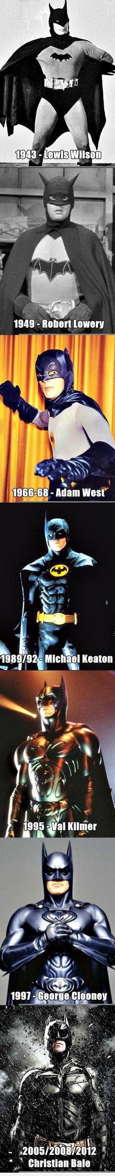 3c67512ef6f1 Evolution of Batman Batman Robin
