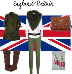 """England/Britain"" by winterlake25 on Polyvore"