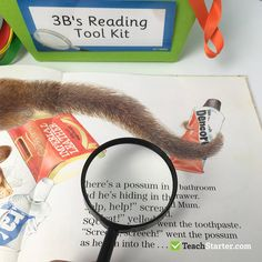 Magnifying Glass for Guided Reading