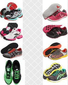 Attractive running shoes - they don't have to look orthodepic!