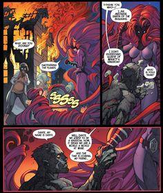 Queen of what? A kingdom? #Dante #Inferno #Inhumans #TheInhumans #InhumanRoyalFamily #InhomoSupremis #Inhumanity #Terrigenesis #Nuhuman #Attilan #NewAttilan #TerrigenMist #Medusa #QueenMedusa #MedusalithAmaquelin #RulerofAttilan #MadameMedusa #DarkQueen #AForce #CouncilofElders #Earth616 #Superheroes #Comics #ComicBooks #Marvel #MarvelComics #MarvelUniverse #JoeMadureira #CharlesSoule #ComicsDune