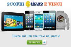 """""""Scopri 6sicuro e vinci"""", in palio smartphone e tablet"""