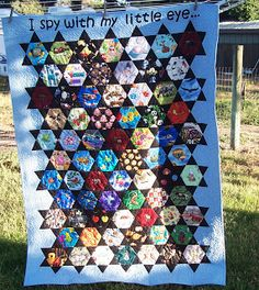 Pointless Quilter: I Spy With My Little Eye