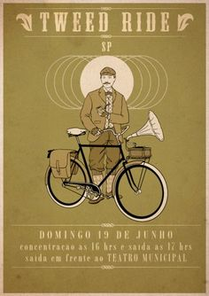 São Paulo Brazil Tweed Ride -- June 19th