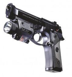 Beretta 92FS with light Find our speedloader now! http://www.amazon.com/shops/raeind