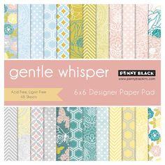 paper pads - Gentle Whisper