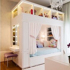 Mädchenzimmer: 75 Mädchenzimmer Ideen mit Fotos Girls room: 75 girls room ideas with photos # Roof sloping paint Related posts: Sewing projects for teens room decor girls bedroom New ideas Light Up Headboard Girl Bedroom Designs, Room Ideas Bedroom, Girls Bedroom, Bedroom Decor, Kids Bedroom Ideas For Girls, Preteen Bedroom, Teen Girl Bedding, Design Bedroom, Child's Room