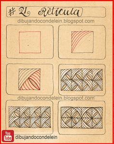 Zen Doodle Patterns, Doodle Art Designs, Zentangle Patterns, Doodles Zentangles, Pattern Design Drawing, Illusion Drawings, Motif Art Deco, Doodle Art Drawing, Mandala Stencils