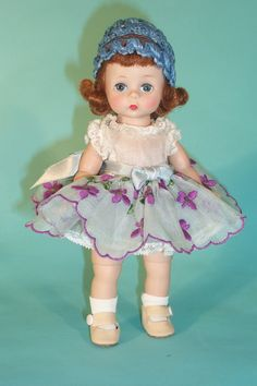 Evergreen and Roses Doll - 2