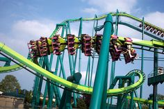 Raptor photo from Cedar Point - CoasterBuzz~ This was death. It was epic.
