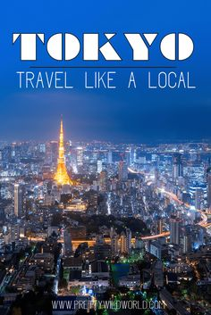 tokyo like a local | asia travel destination | things to do in tokyo | tokyo japan travel bucket list | what to do in tokyo japan | expat living in japan via @prettywildworld