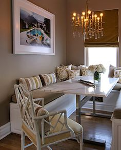 TROVE INTERIORS: A Closer Look: Banquette Seating