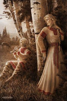 Slavic mythology by Igor Ozhiganov / God Yarilo Jarilo, alternatively Yarilo, Iarilo, or Gerovit, was a Slavic god of vegetation, fertility and springtime.
