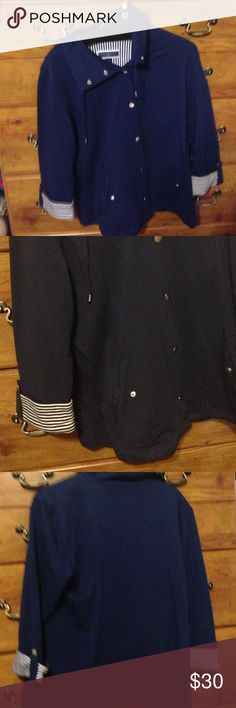 Selling this Karen Scott Sport Jacket on Poshmark! My username is: showbizliz. #shopmycloset #poshmark #fashion #shopping #style #forsale #Karen Scott #Jackets & Blazers