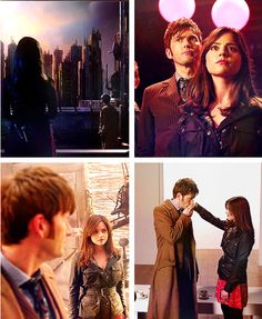 10 and Clara Child Please, David Tennant, Tardis, Doctor Who, Tv Shows, Concert, Cute, Doctor Who Baby, Kawaii