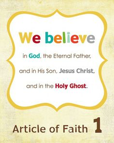 You can download your Article of Faith cards from Simply Fresh Design here.