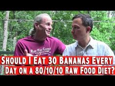 Should I Eat 30 Bananas a Day on a 80/10/10 Raw Food Diet? (+playlist)