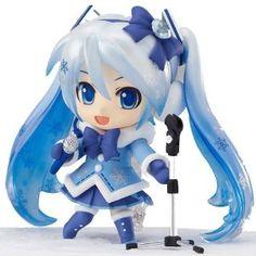 so cute  Nendoroid Snow Miku Fuwafuwa Coat Version