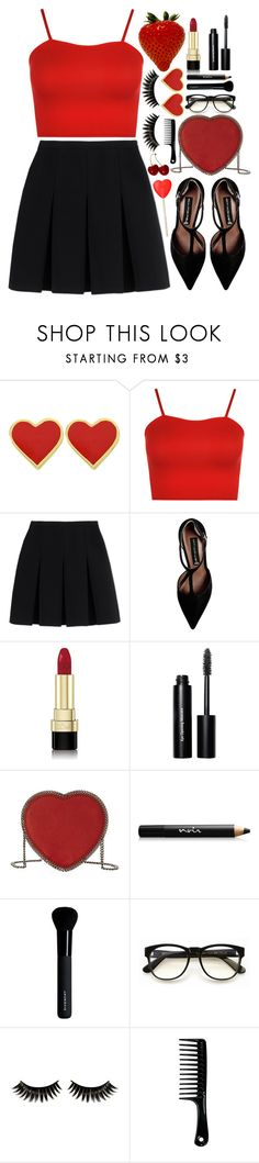 """""""Sweet Valentine"""" by tinasxx ❤ liked on Polyvore featuring WearAll, Alexander Wang, Steve Madden, Dolce&Gabbana, Bobbi Brown Cosmetics, STELLA McCARTNEY, Noir Cosmetics, Givenchy, Wildfox and Boohoo"""