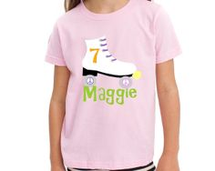 Roller Skate Birthday Shirt by personaliTEEshop on Etsy, $24.00