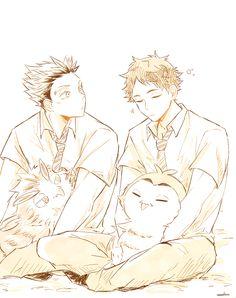 Bokuto X Akaashi, Kuroken, Bokuaka, Kagehina, Kenma, Haikyuu Manga, Manga Anime, In Another Life, Wedding Scene