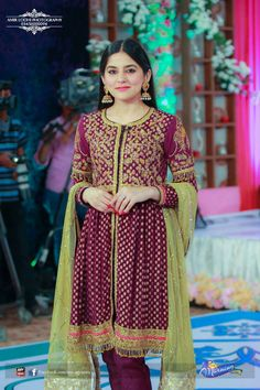Ever fresh sanam baloch Beautiful Pakistani Dresses, Pakistani Dresses Casual, Pakistani Bridal Wear, Indian Dresses, Indian Outfits, Beautiful Dresses, Nice Dresses, Girls Dresses, Eid Outfits