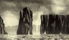 Norman Ackroyd etching
