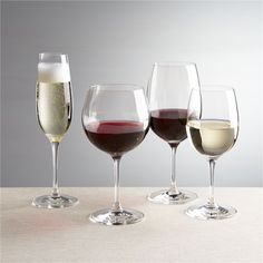Everyday stemware, beautifully crafted from top to bottom. Generous bowls are finished with smooth fire-polished rims and pulled stems. Exquisite clarity at an exceptional price.<br /><br /><NEWTAG/><ul><li>Casual everyday glass at an exceptional value</li><li>Pulled stems</li><li>Hand washing recommended</li><li>Made in Slovakia</li></ul><br />