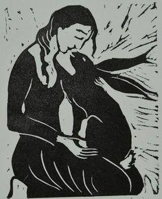 Jackie Morris Hare Woman