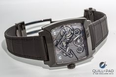 TAG Heuer Monaco with black case Tag Heuer Monaco, Watches For Men, The Incredibles, Tags, Accessories, Quill, Effort, Belts, Innovation