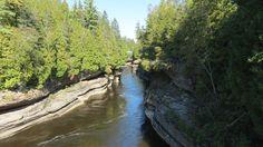 QC - Saint-Alban - 1 de 2 - Secteur des gorges de la rivière Ste-Anne Ste Anne, Public, Parcs, Saint, Water, Outdoor, Water Water, Outdoors, Aqua