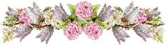 barres de séparations fleurs