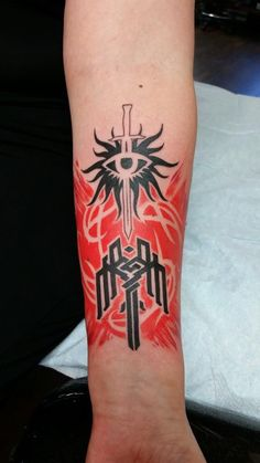 This is not my dragon age tattoo but I am in awe of it.