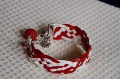 A personal favorite from my Etsy shop https://www.etsy.com/listing/259105827/peppermint-twist-bracelets-made-from